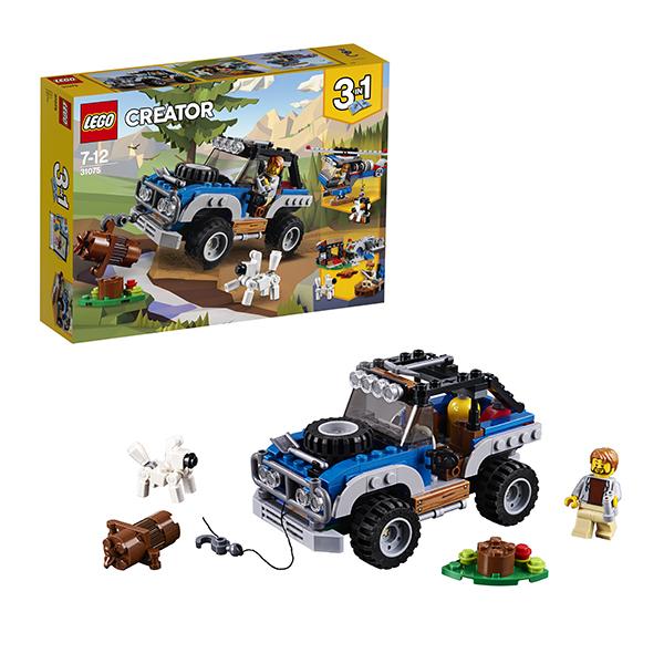 Lego Creator 31075 Конструктор Лего Криэйтор Приключения в глуши, арт:152440 - Криэйтор, Конструкторы LEGO