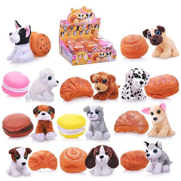 Мягкая игрушка Sweet pups Sweet pups 1610032 Игрушка-трансформер Сладкие щенки 11 см по цене 649