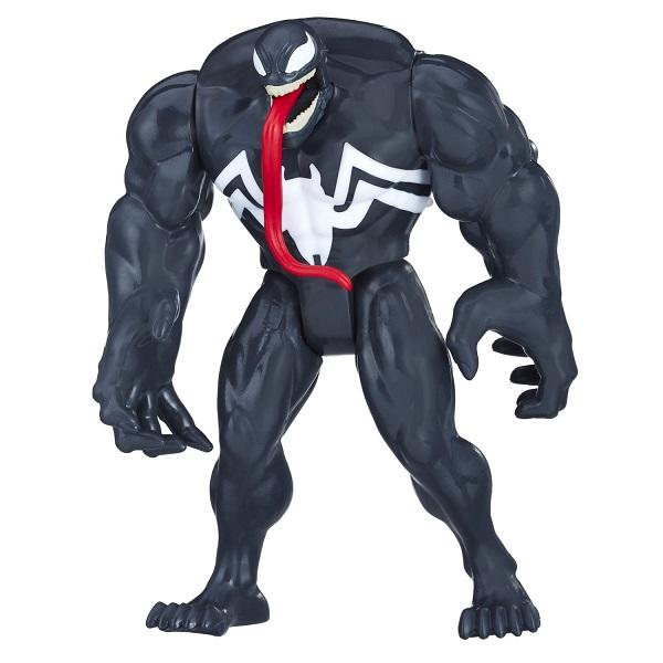Купить Hasbro Spider-Man E0808/E1100 Фигурка Человека-Паука Веном (с аксессуарами), Игровые наборы и фигурки для детей Hasbro Spider-Man
