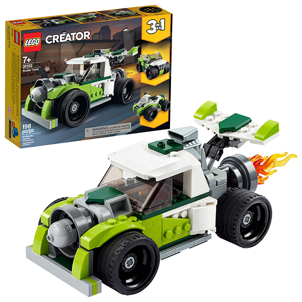 Купить LEGO Creator 31103 Конструктор ЛЕГО Криэйтор Грузовик-ракета, Конструкторы LEGO