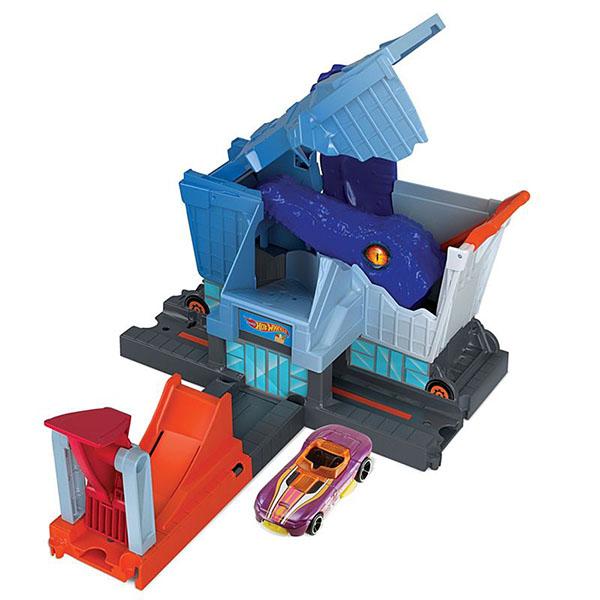 Mattel Hot Wheels GBF92 Хот Вилс Игровой набор с монстрами-злодеями (в ассортименте), Игровые наборы и фигурки для детей Mattel Hot Wheels  - купить со скидкой