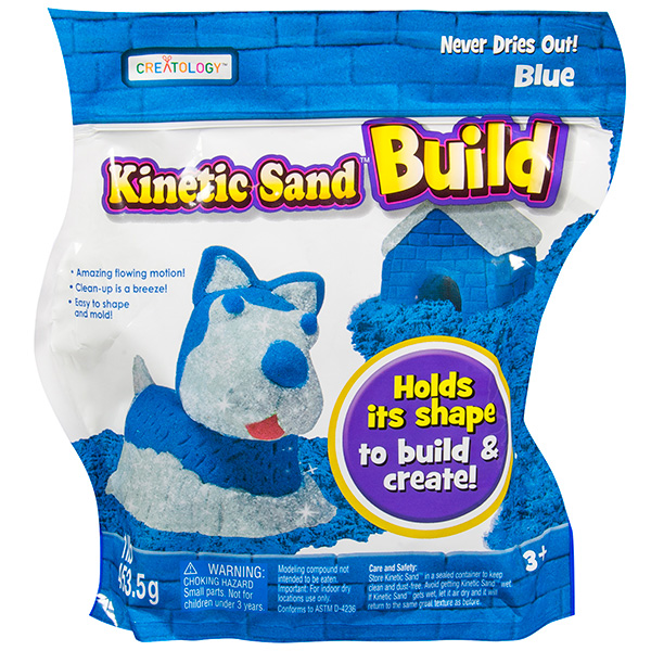 Кинетический песок Kinetic sand от Toy.ru