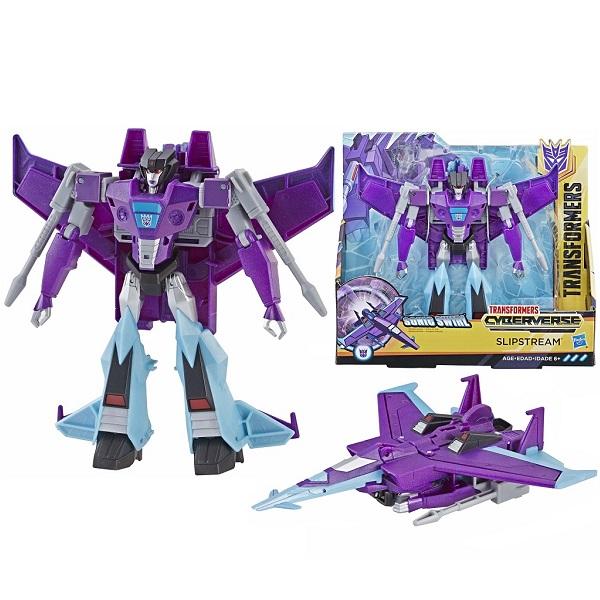 Купить Hasbro Transformers E1886/E3640 Трансформер КИБЕРВСЕЛЕННАЯ 19 см Слипстрим, Игрушечные роботы и трансформеры Hasbro Transformers