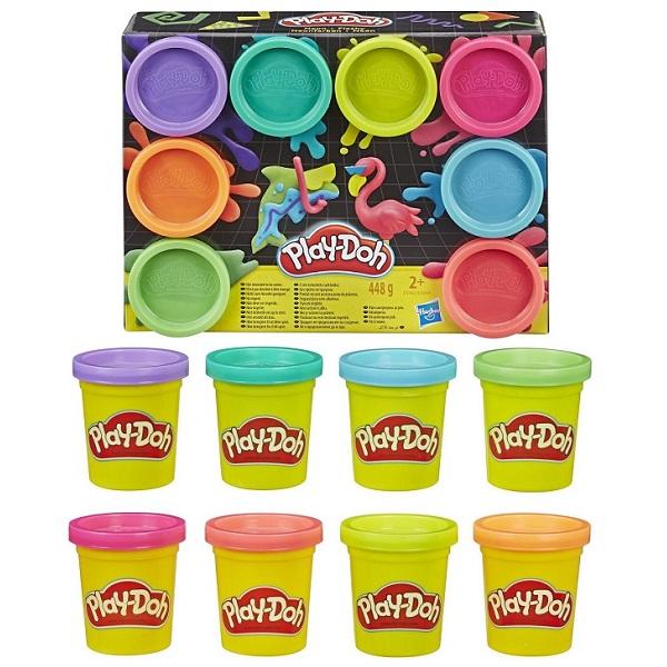 Купить Hasbro Play-Doh E5044 Плей-До 8 цветов, Игровые наборы Hasbro Play-Doh