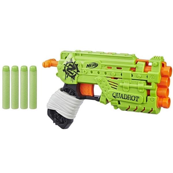 Купить Hasbro Nerf E2673 Нерф Зомбистрайк Квадрот, Игрушечное оружие и бластеры Hasbro Nerf