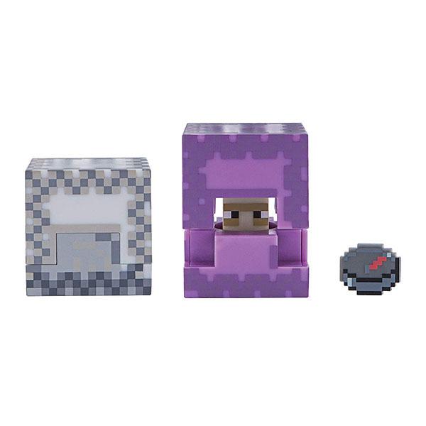 Купить Minecraft 19973 Майнкрафт фигурка Shulker, Минифигурка Minecraft