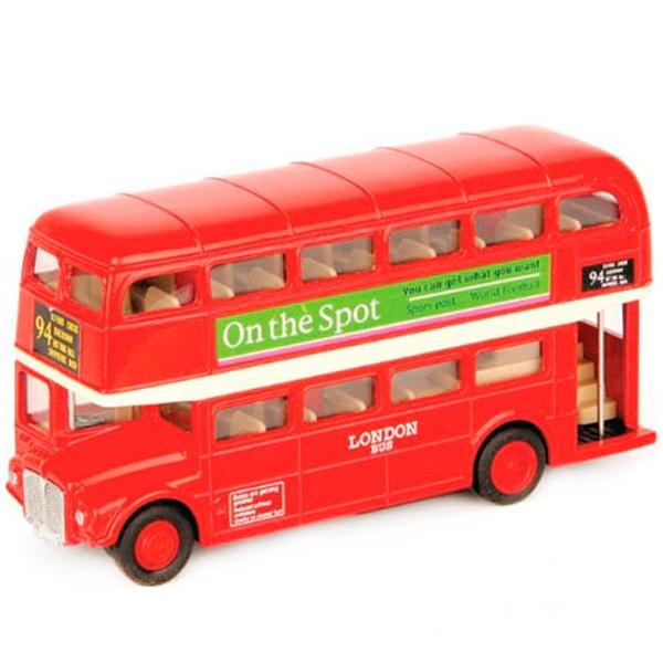 Машинка Welly Welly 99930 Велли Модель автобуса 1:60-64 London Bus по цене 419