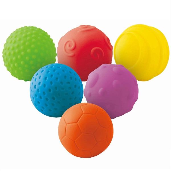 Купить LITTLE HERO 2007L Набор рельефных мячиков, Развивающие игрушки для малышей LITTLE HERO