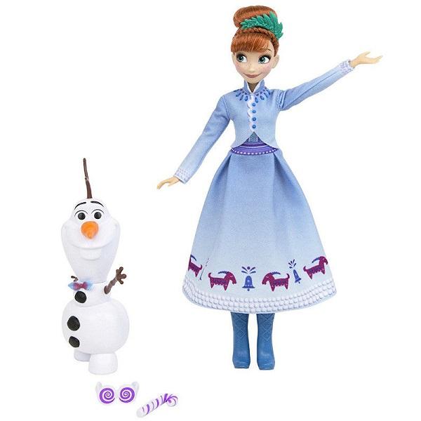 Hasbro Disney Princess C3382/C3384 Холодное сердце Рождество с Олафом Анна, арт:155261 - Холодное сердце, Куклы и аксессуары