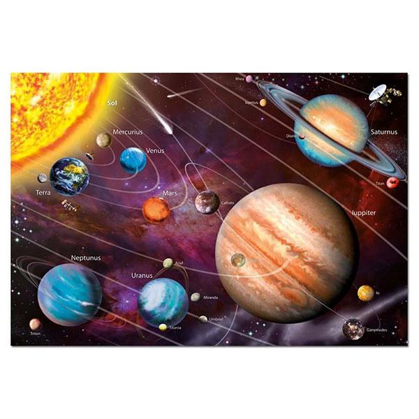 Educa 14461 Пазл 1000 деталей Солнечная система (с неоновым свечением) - Настольные игры