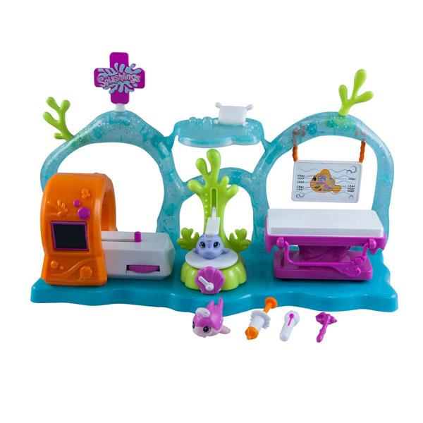 Купить Splashlings 297566 Сплешлингс Игровой набор Медицинский Центр , Игровой набор Splashlings