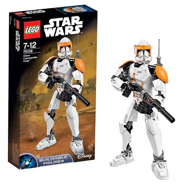 Lego Star Wars 75108 Лего Звездные Войны Клон-коммандер Коди