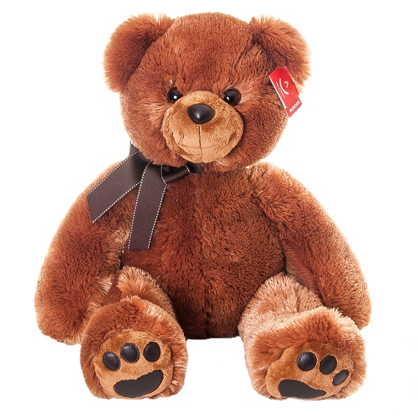 Купить Aurora 41-102 Аврора Медведь тёмно-коричневый 70 см, Мягкая игрушка Aurora