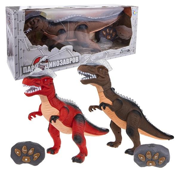 1toy T59069 Darkonia Робот-динозавр на д/у (движ. вперед, 2 ск., свет,звук. эффекты(в ассортименте) по цене 1 899