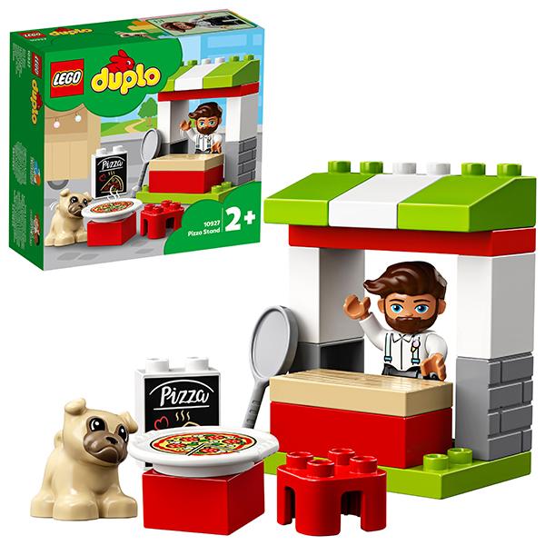 Конструкторы LEGO — LEGO DUPLO 10927 Конструктор ЛЕГО ДУПЛО Киоск-пиццерия