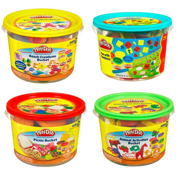 Купить Hasbro Play-Doh 23414 Игровой набор Ведёрочко (в ассортименте), Пластилин Hasbro Play-Doh