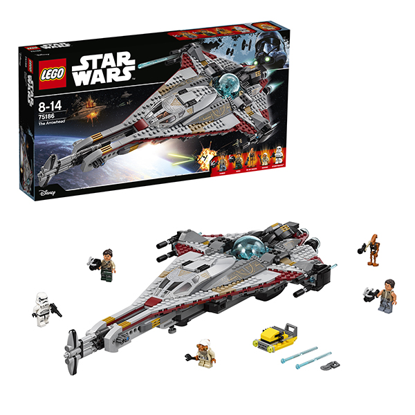 Купить LEGO Star Wars 75186 Конструктор ЛЕГО Звездные Войны Стрела, Конструктор LEGO