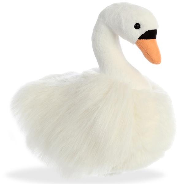 Купить Aurora 170441B Лебедь, 25 см, Мягкая игрушка Aurora