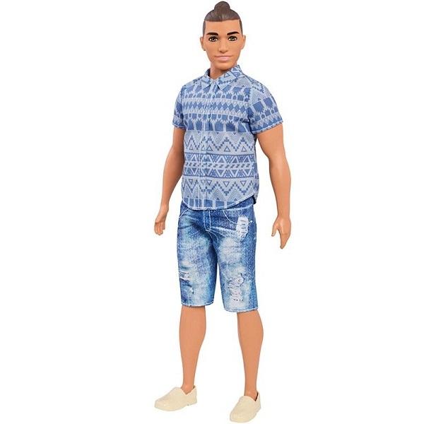 "Куклы и пупсы Mattel Barbie FNJ38 Кен из серии ""Игра с модой"" фото"