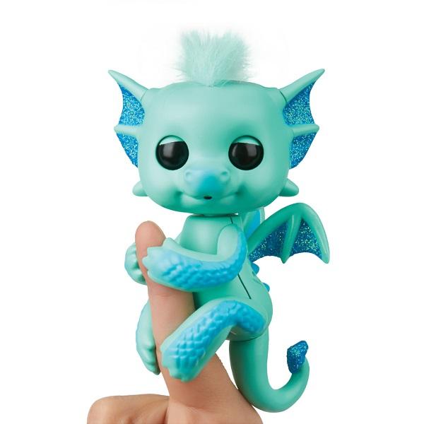FINGERLINGS 3582M Интерактивный дракон Ноа, 12 см - Интерактивные игрушки