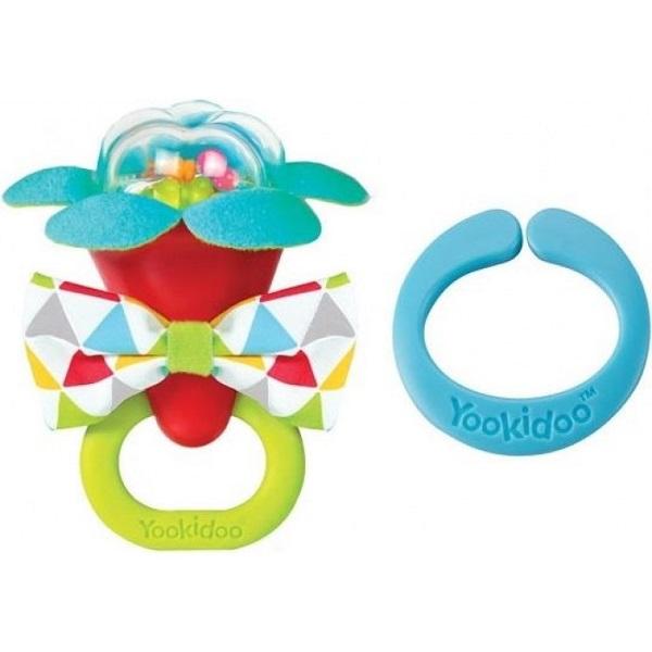 Купить Yookidoo 40149 Игрушка Моя первая погремушка (красный), Развивающие игрушки для малышей Yookidoo