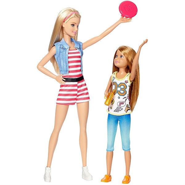 Mattel Barbie DWJ64 Набор кукол Скиппер и Стейси - Куклы и аксессуары