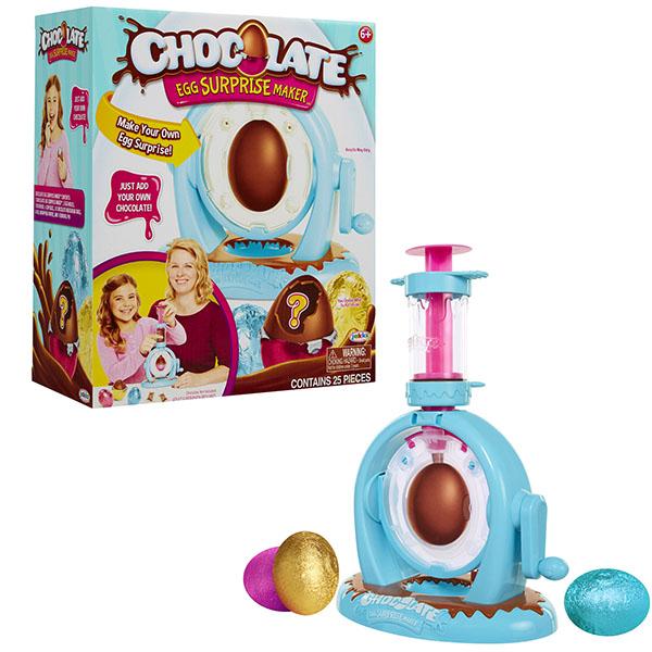 Chocolate Egg Surprise Maker 647190 Набор для изготовления шоколадного яйца с сюрпризом, Набор для творчества Chocolate Egg  - купить со скидкой