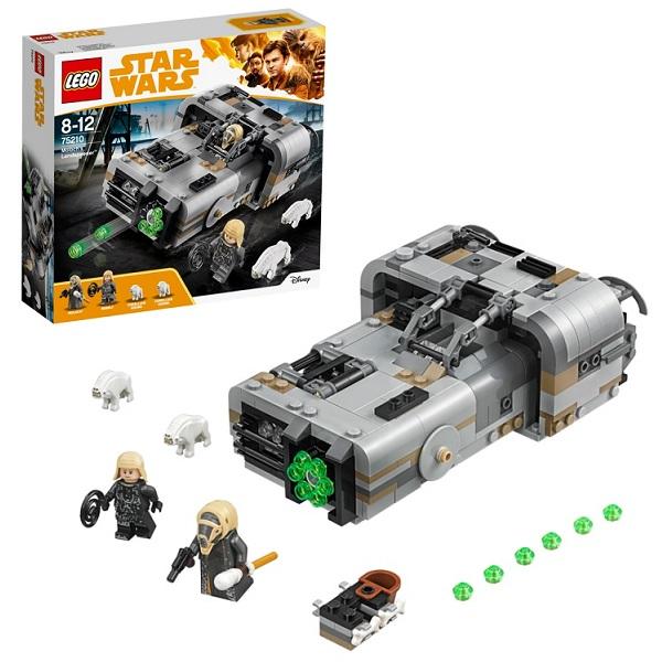 Купить LEGO Star Wars 75210 Конструктор ЛЕГО Звездные Войны Спидер Молоха, Конструкторы LEGO