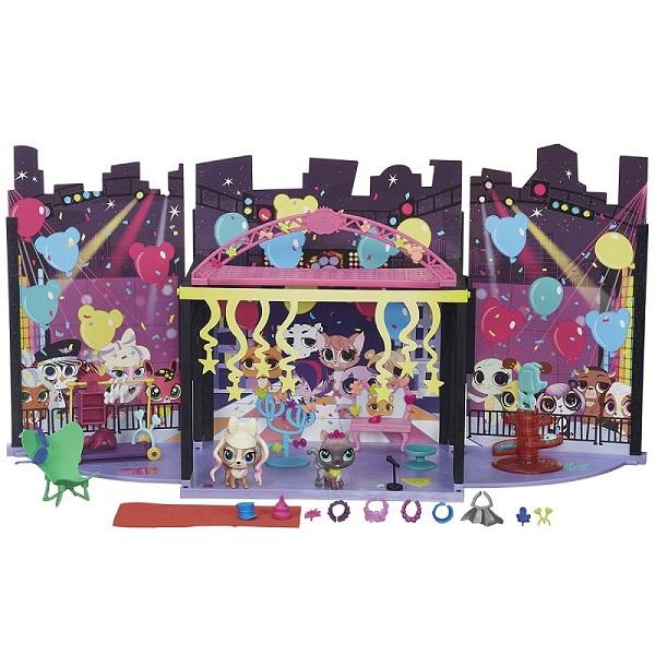 Купить Hasbro Littlest Pet Shop B1241 Литлс Пет Шоп Набор За кулисами , Игровые наборы Hasbro Littlest Pet Shop