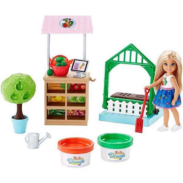Mattel Barbie FRH75 Барби Овощной сад Челси - Куклы и аксессуары