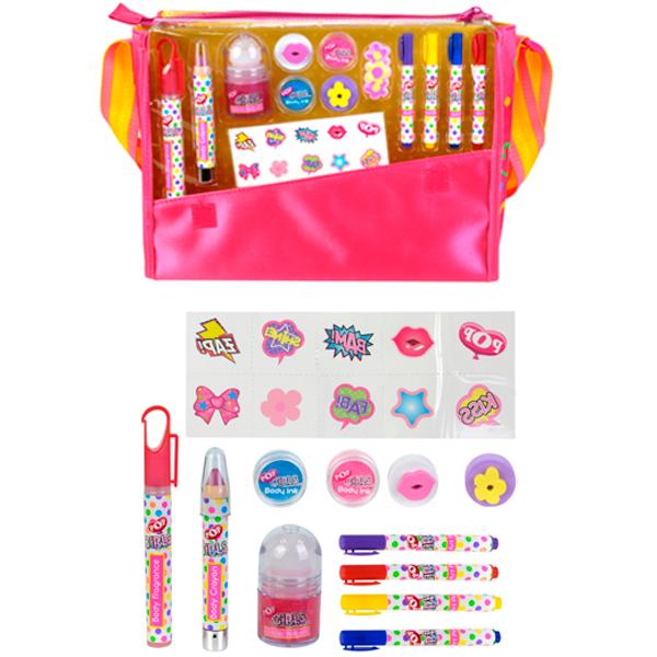 Купить Markwins 3704651 POP Игровой набор детской декоративной косметики в сумке, Косметика и духи для девочек Markwins