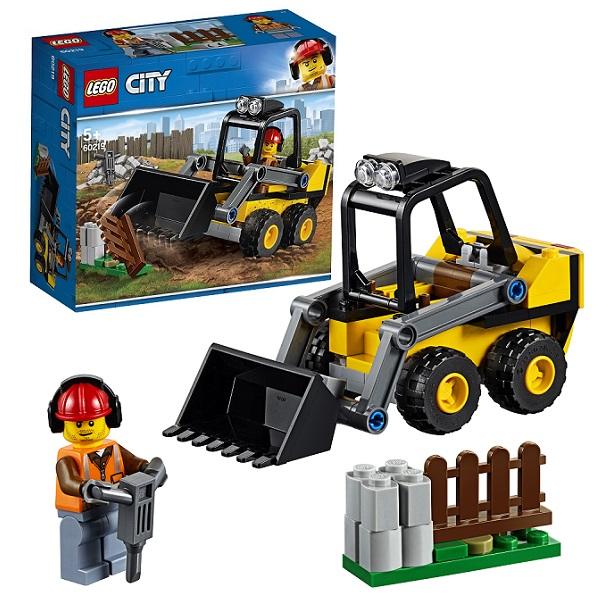 Купить Lego City 60219 Конструктор Лего Город Транспорт: Строительный погрузчик, Конструкторы LEGO
