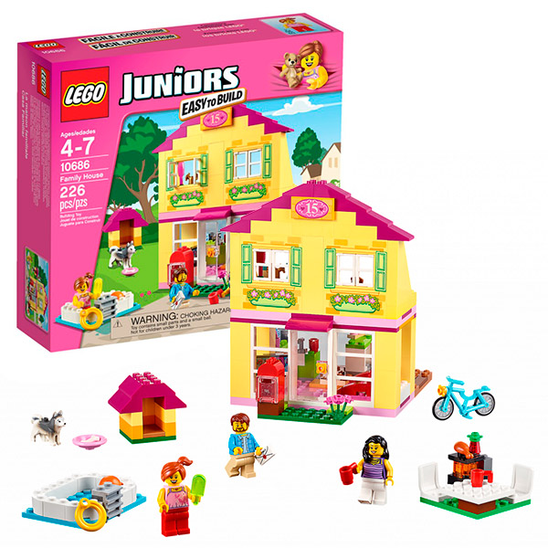 Конструктор LEGO - Джуниорс, артикул:104093