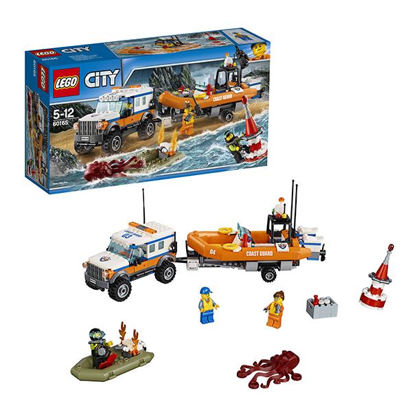 Lego City 60165 Конструктор Лего Город Внедорожник 4х4 команды быстрого реагирования, арт:149776 - Город, Конструкторы LEGO