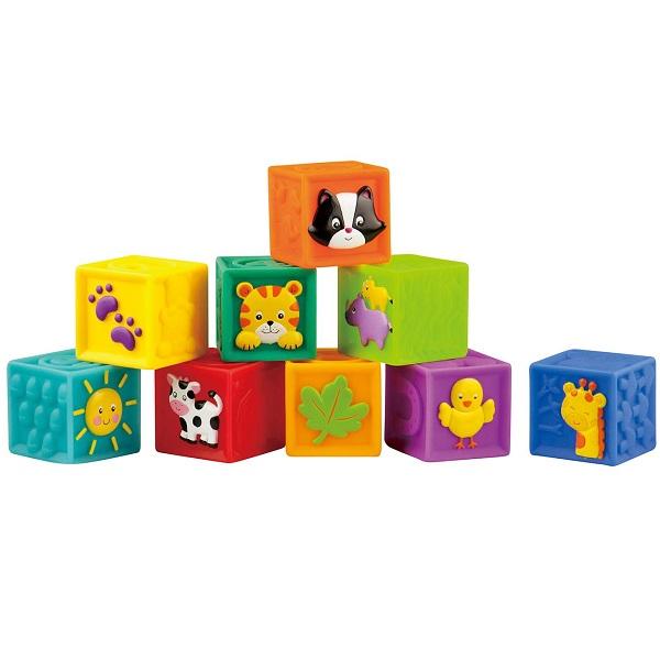Купить LITTLE HERO 3043 Мягкие кубики , Развивающие игрушки для малышей LITTLE HERO