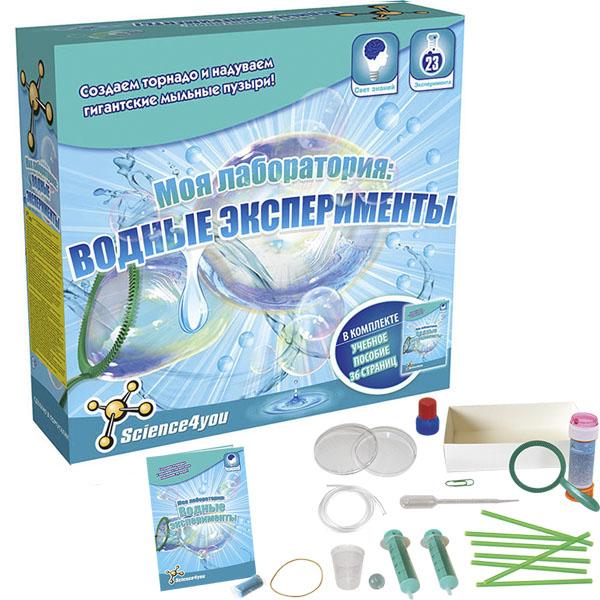 Купить Science4you 606654 Набор опытов Моя лаборатория: водные эксперименты , Набор для творчества Science4you