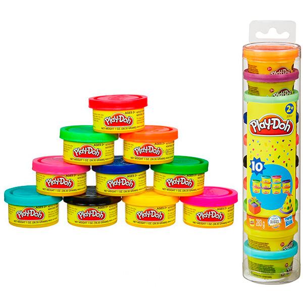 Купить Hasbro Play-Doh 22037 Набор Для Праздника в тубусе, Набор для творчества Hasbro Play-Doh