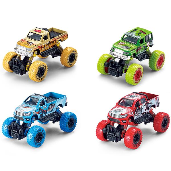 Купить Wincars YK-2201 Джип с большими колёсами инерционный металлический 14 см, (в ассортименте), Игрушечные машинки и техника ТМ Wincars