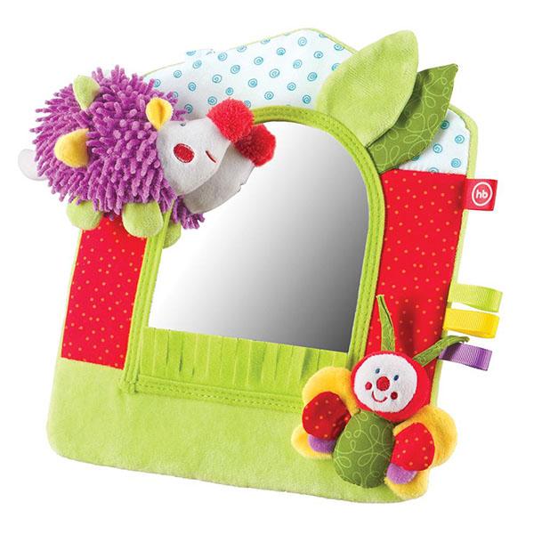 Купить Happy Baby 330352 Развивающая игрушка-зеркало, Развивающие игрушки для малышей Happy Baby