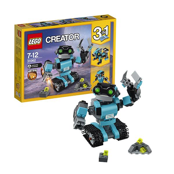 Lego Creator 31062 Конструктор Лего Криэйтор Робот-исследователь, арт:145727 - Криэйтор, Конструкторы LEGO