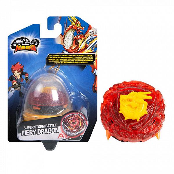 Купить Infinity Nado 37694 Инфинити Надо Волчок Компакт, Fiery Dragon , Игровые наборы Infinity Nado