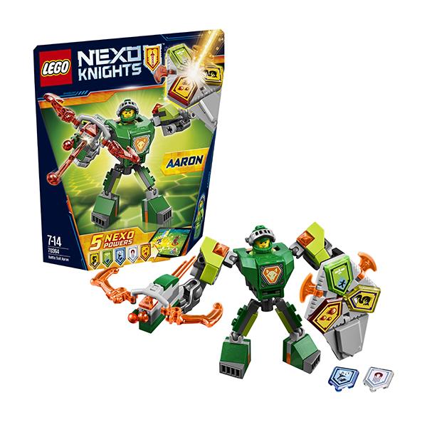 Lego Nexo Knights 70364 Конструктор Лего Нексо Боевые доспехи Аарона - Конструкторы для мальчиков и девочек