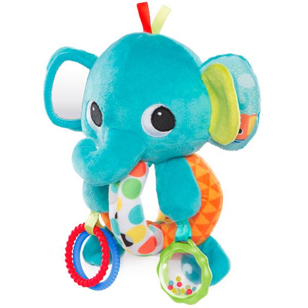 Купить BRIGHT STARTS 10829A Развивающая игрушка Ласковый слонёнок , Развивающие игрушки для малышей BRIGHT STARTS
