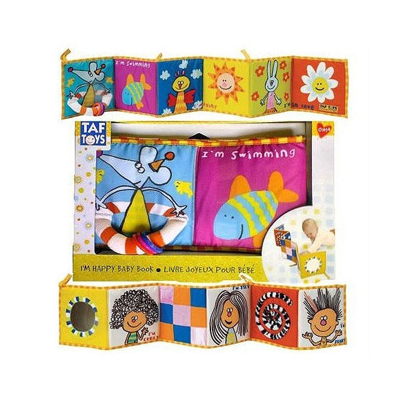 Taf Toys 106750 Таф Тойс Развивающая книжка
