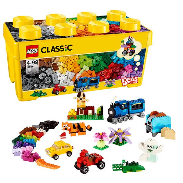 Купить LEGO Classic 10696 Конструктор ЛЕГО Классик Набор для творчества среднего размера, Конструктор LEGO