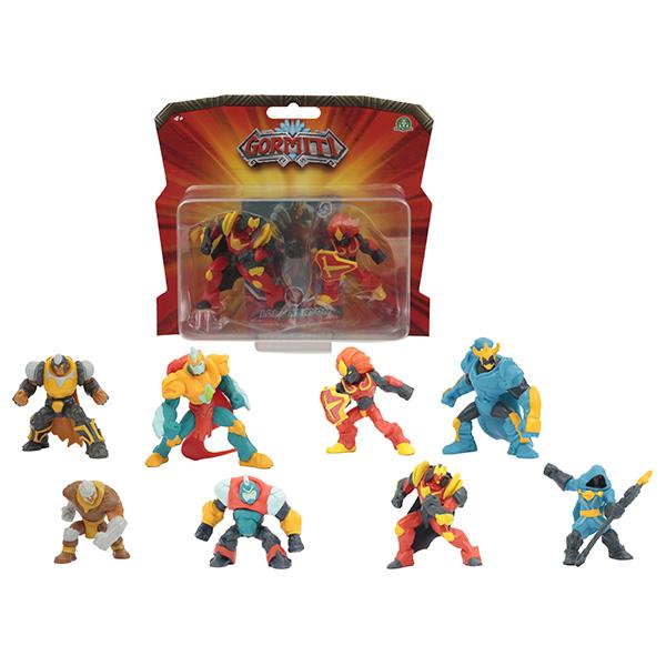Купить Gormiti GRM25000 Коллекционные фигурки в блистере 5 см, 2 шт. в наборе, Игровые наборы и фигурки для детей Gormiti
