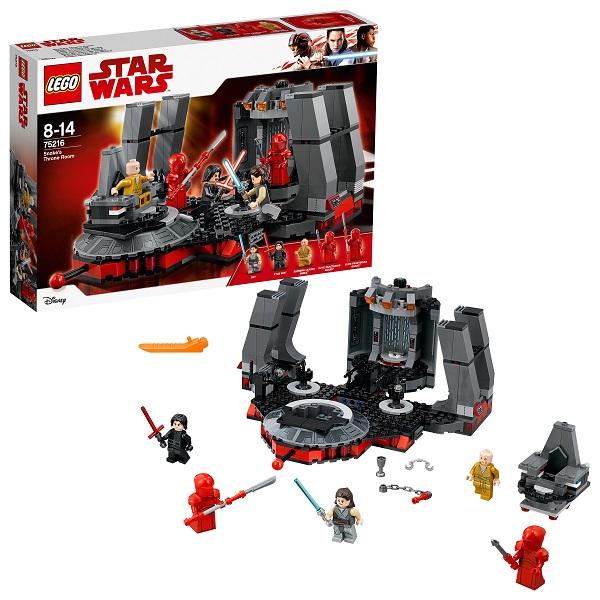 Lego Star Wars 75216 Конструктор Лего Звездные Войны Тронный зал Сноука, арт:154813 - Звездные войны, Конструкторы LEGO
