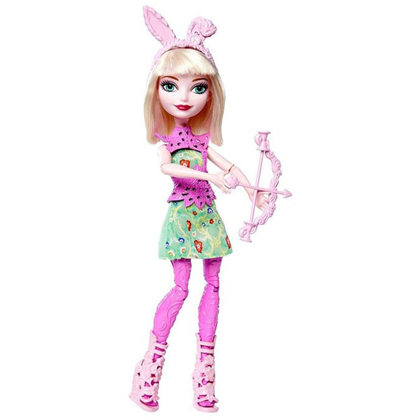 Кукла Mattel Ever After High DVH81 Куклы-лучницы Банни Бланк фото