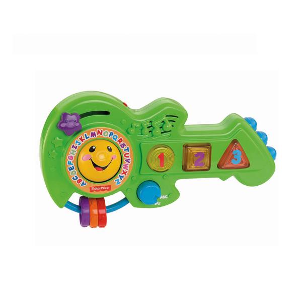 """Развивающие игрушки для малышей Mattel Fisher-Price Mattel Fisher-Price BFY40 Фишер Прайс Обучающая гитара """"Смейся и учись"""" по цене 1 589"""