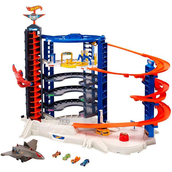 Купить Mattel Hot Wheels FDF25 Хот Вилс Невообразимая Башня, автотрек Mattel Hot Wheels